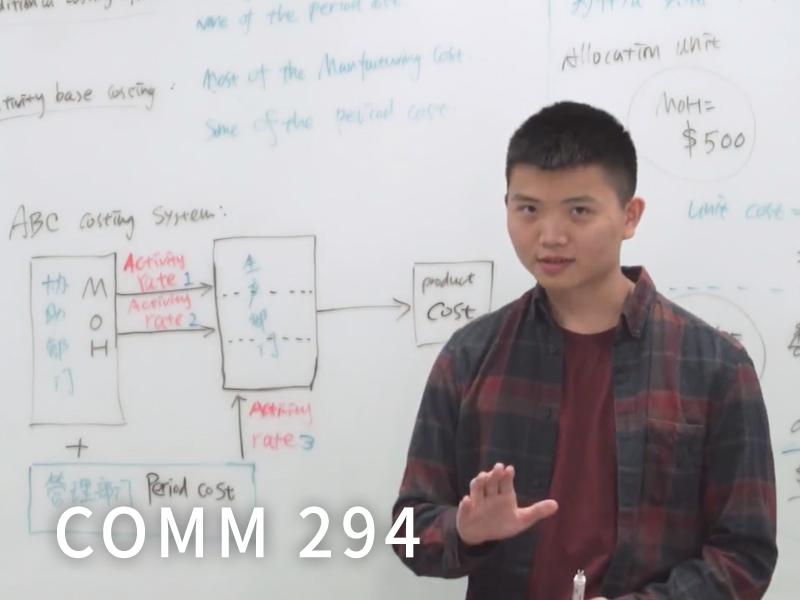 COMM 294