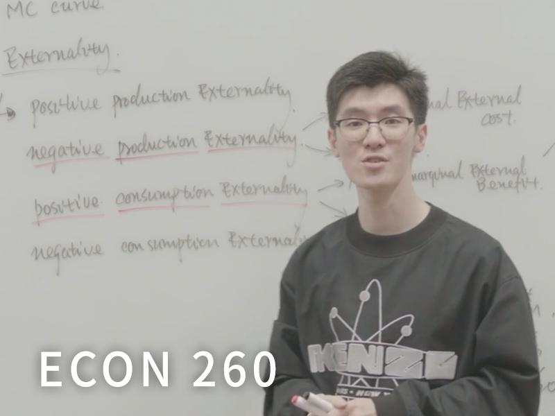 ECON 260