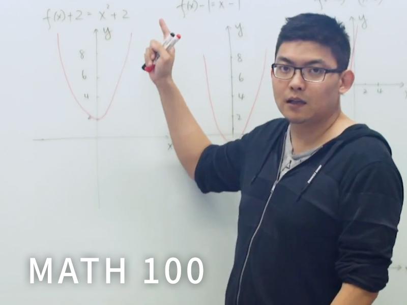 MATH 100