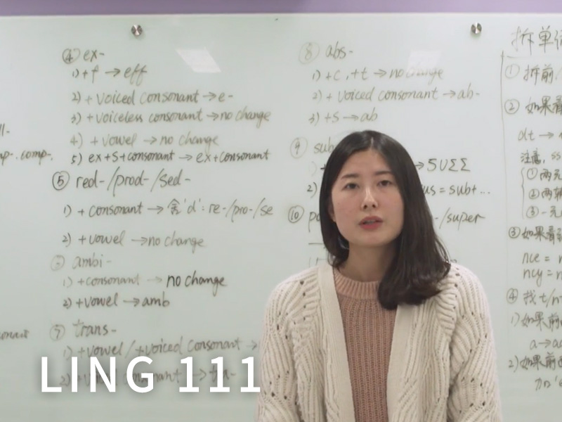 LING 111