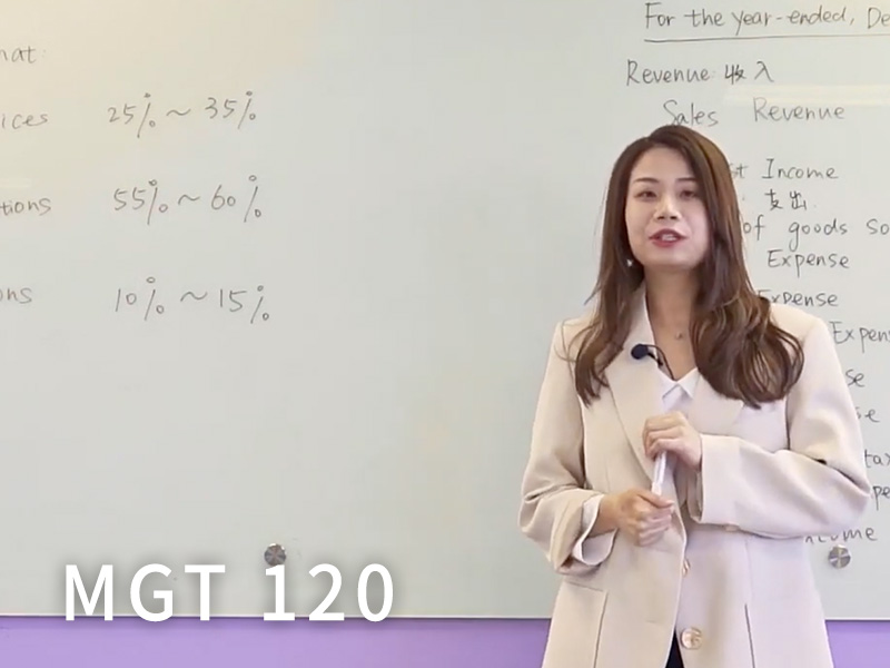 MGT 120